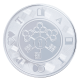 Medal Silver luck coin with hologram