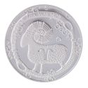"Medal Zodiac Sign ""Aries"""