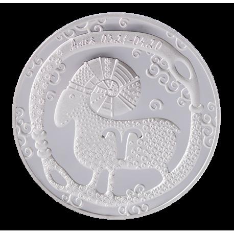 "Medal ""Zodiac Sign Aries"""