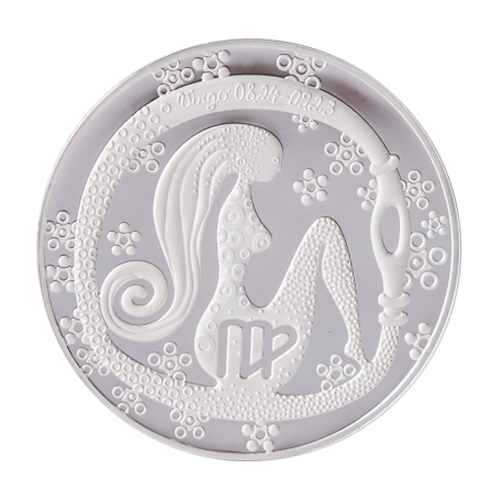 """Medalis Zodiako ženklas """"Mergelė"""""""