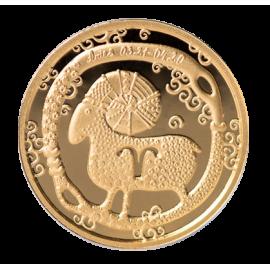 Золотая медаль «Знак зодиака Овна»