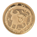 """Aukso Medalis """"Zodiako ženklas Jautis"""""""