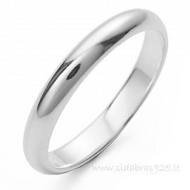 """Обручальное кольцо """"Узкий 2,6"""""""