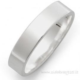 """Vestuvinis žiedas """"Graviravimui 2"""" 4,9mm"""