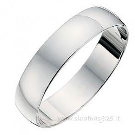 Žiedas vestuvinis, platus 4.7