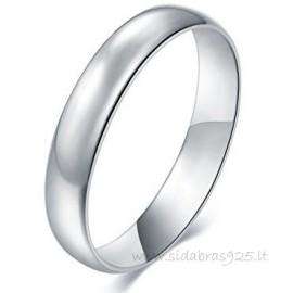 Sidabrinis žiedas vestuvėms