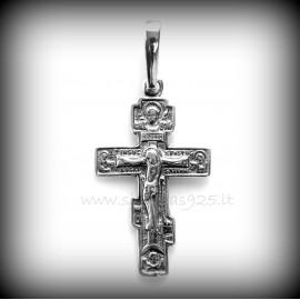 Pakabukas religinis Sentikių kryžiukas P722