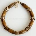 Bronze bracelet with Indian tree