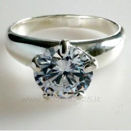 Žiedas su Cirkoniu Sužadėtuvių Ž731