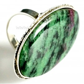 Unique jewelry Žiedas su Anyolitas (zoisitas)