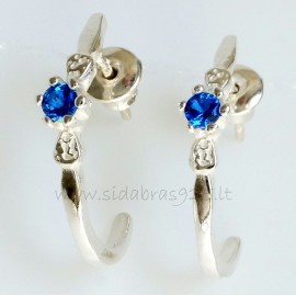 Earrings with Zirconia A733
