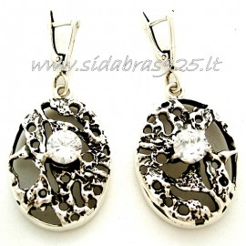 Earrings with Zirconia A453
