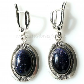 Earrings with Cairo Stone A132