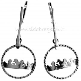 Earrings The Crown A266