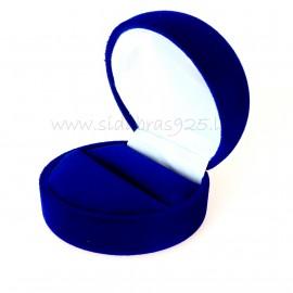 Dovanų dėžutė mėlyna Žiedui
