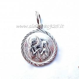 Pakabukas religinis medalionas P378