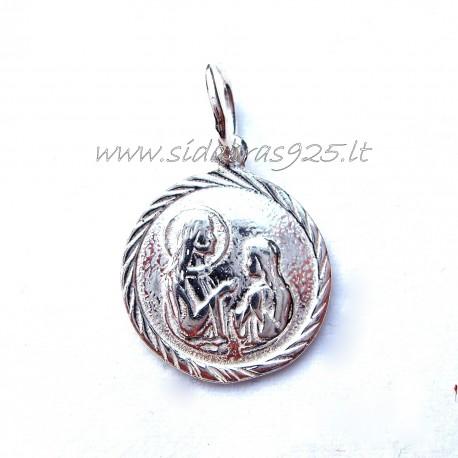 Подвеска религиозный медальон P378