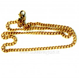 Brass chain ŽG pure metal