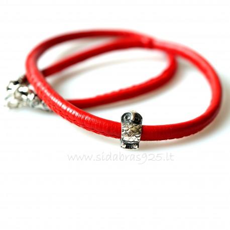 """Kolje su raudona virvute """"Pelėdžiukas"""""""