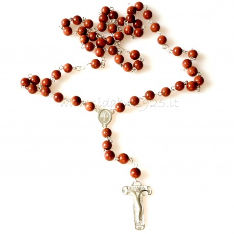 Rosaries with sun stones RS2