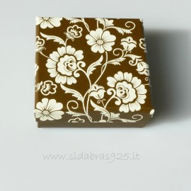 "Gift Box ""Flower box"" Brown"