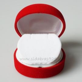 "Подарочная коробка ""Красная коробка для сережек"""