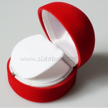 """Dovanų dėžutė """"Raudona dėžutė žiedui"""""""