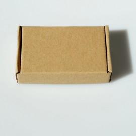Dovanų dėžutė rudo kartono