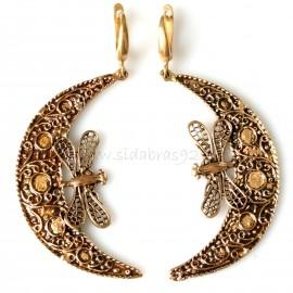 """Bronze earrings BA """"Andaja"""""""