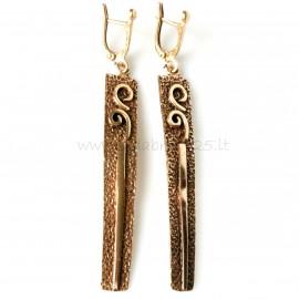 Bronze earrings BA434