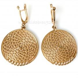 Bronze earrings BA701