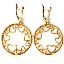 """Bronze earringsi BA """"Širutės"""""""