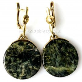 """Brass earrings ŽA """"Persefonė"""""""