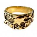 Žalvarinis žiedas ŽŽ491