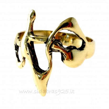 Žalvarinis žiedas ŽŽ145