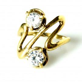 Žalvarinis žiedas ŽŽ090