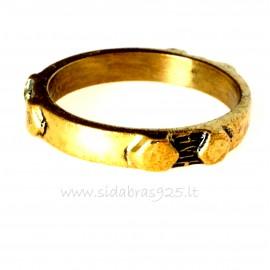 Žalvarinis žiedas ŽŽ129