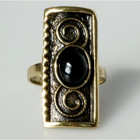 Žalvarinis žiedas ŽŽ156