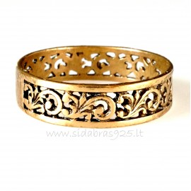 Bronzinis žiedas BŽ155