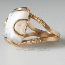 Bronze ring Agatu BŽ160