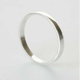 Кольцо до середины пальца