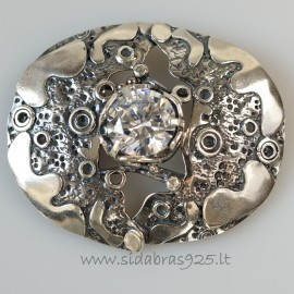 Brooch Unit with zirconium