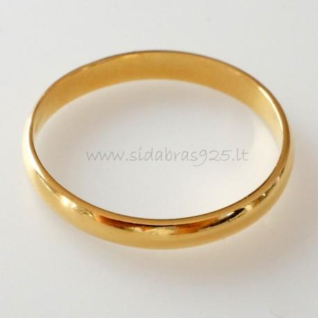 Paauksuotas žiedas ŽAuAg 0,26