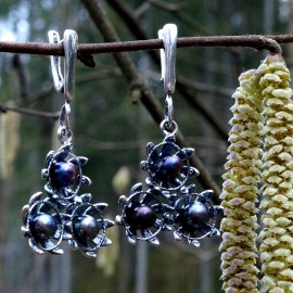 Earrings with Pearls 3