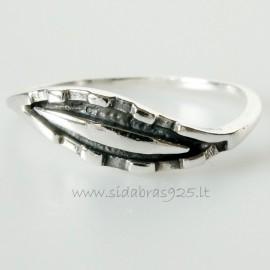 """Žiedas """"Šypsenos bokšteliai"""" Ž036"""