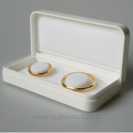 """Dovanų dėžutė """"Vestuviniams žiedams"""""""