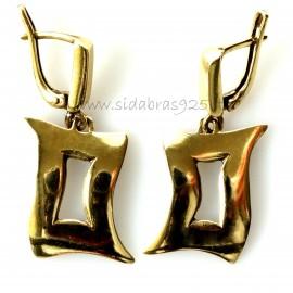 Brass earrings ŽA293