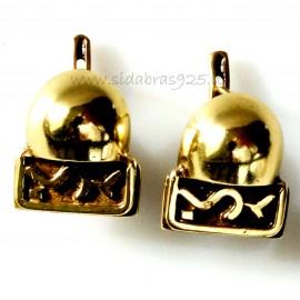 Žalvariniai auskarai ŽA186