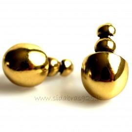 Brass earrings ŽA187