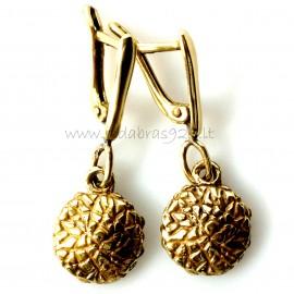 "Brass earrings ŽA ""Žalioji moneta"""